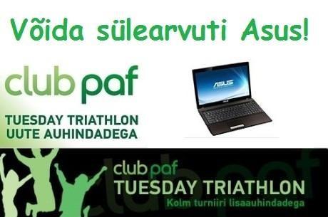 Alates oktoobrist Paf Tuesday Triathlon võistlusel uued auhinnad