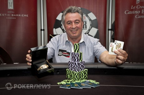 2012 World Series of Poker Europe, día 7: Giovanni Rosadoni ganó el oro a Dan O'Brien