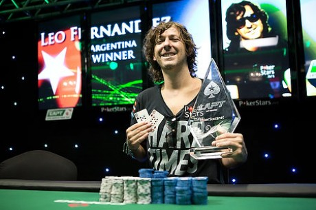 Team PokerStars Pro Leo Fernandez Wins PokerStars Latin American Poker Tour Panama