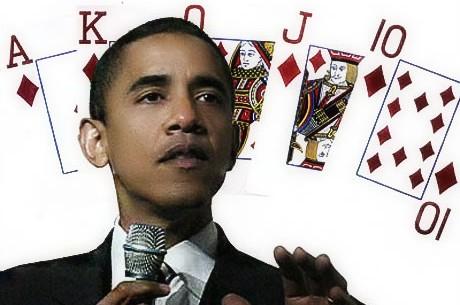 Новости дня: Обама и покер, Sunday Million снова с нами, и...