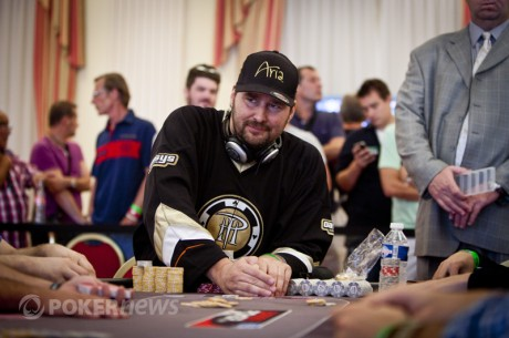 2012 World Series of Poker Europe Day 13: Phil Hellmuth Leads Main Event Final Table