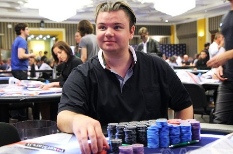 2012 PokerStars.com EPT Sanremo Main Event Day 2 подошел к концу; Forsmo...
