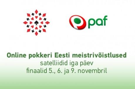 Võida koht Online-pokkeri Eesti meistrivõistlustele Pafis