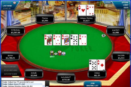 即将归来的全倾斜扑克