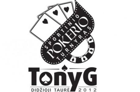 """Antanas """"Tony G"""" Guoga kviečia į pirmąjį savo vardo sportinio pokerio turnyrą!"""