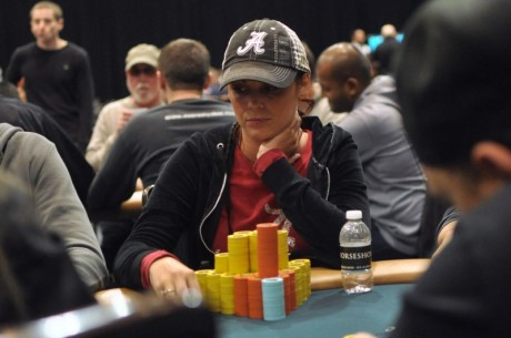 2012-13 World Series of Poker Circuit Horseshoe Hammond Day 2: Claudia Crawford Leads