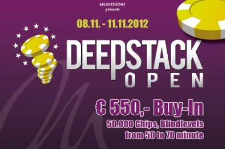 November 8 és 11 között rendezik a Deepstack Open Vienna-t a Montesinoban