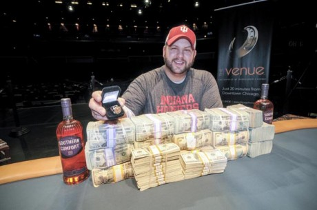 Josh Williams Wins 2012-13 World Series of Poker Circuit Horseshoe Hammond