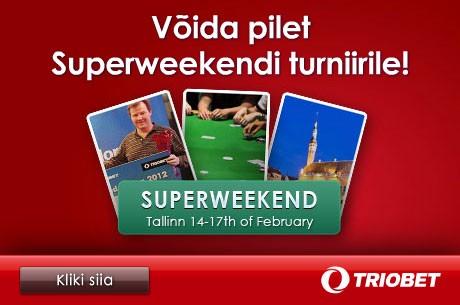 Täna algab kvalifitseerumine veebruaris Tallinnas toimuvale Superweekendile
