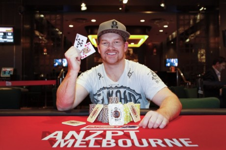 Paul Hockin Wins the PokerStars.net Australia New Zealand Poker Tour Melbourne
