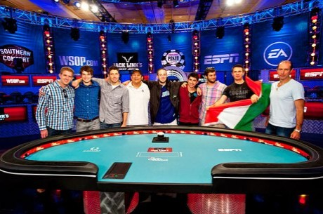 WSOP Final Table: Greg Merson, Jesse Sylvia e Jake Balsiger Na Disputa do Ouro