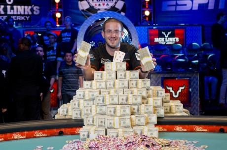 Gregas Mersonas tampa 2012m. Pasaulio pokerio serijos pagrindinio turnyro čempionu!