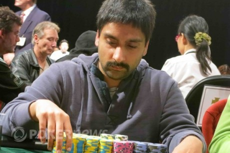 2012-13 WSOP Circuit River Rock Day 2: Sonny Sekhon Takes Lead with 30 Remaining