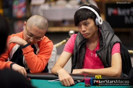 2012 PokerStars.net APPT Macau: Asia Championship of Poker Day 1: Yue Hin Lam Leads
