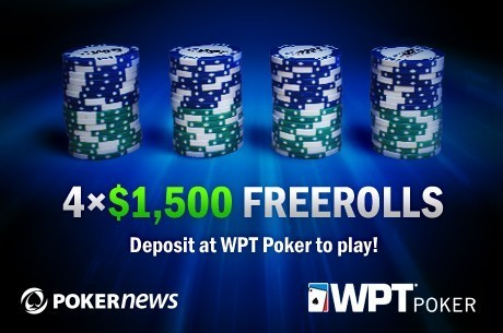 Don't Miss Your Chance to Deposit and Play in the Last WPT Poker Freeroll!