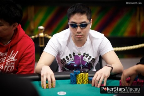2012 PokerStars.net APPT Macau: ACOP 데이 2 칩리더는 Gaw