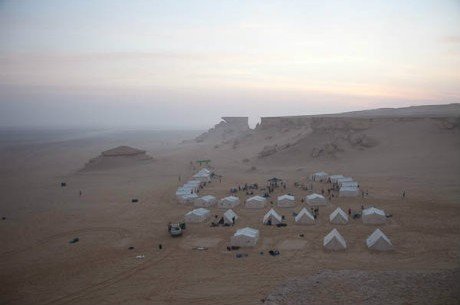 Brian Townsend llega a los límites de la mente en la Carrera del Sáhara