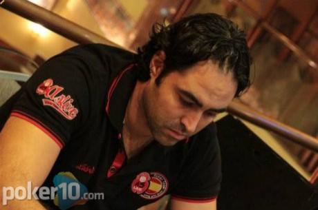 David Lebrón es el mejor de los españoles en el Día 1A del Tanger Poker Festival