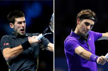 Pronostic Finale du Masters : Federer coté à 2.10, Djokovic à 1.48