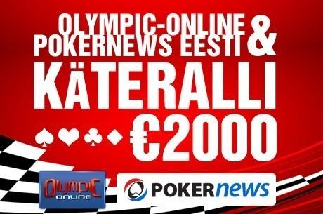 Jaanuaris alanud Olympic-Online Pokernewsi käteralli lõppes vaid nelja osalejaga...