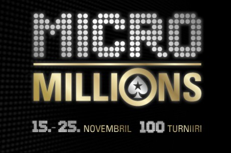 PokerStarsis MicroMillions lll deposiitboonus