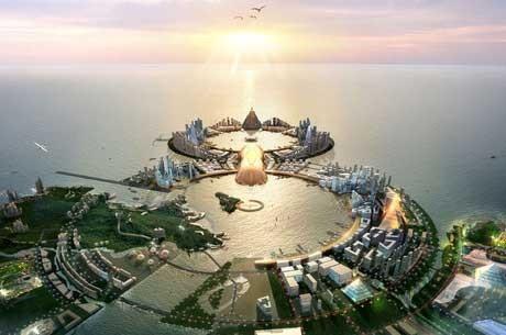"""Koreja Ima Planove za Novo Ostrvo-Grad Greha """"8City"""" Vrednosti $275 milijardi"""