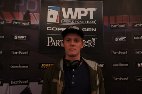 2012 World Poker Tour København: Kjær leder etter dag 2, Hille ute av Main Event