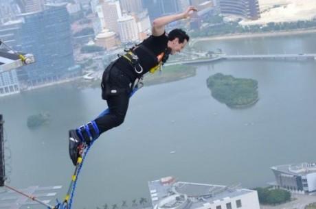 Les défis d'ElkY : un saut à l'élastique de 233 mètres à Macao ! (Vidéo)