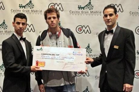 Alejandro González gana el CEP de Madrid y se lleva 42.350€