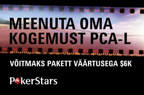 Kui oled käinud PCA pokkerifestivalil, siis jaga mälestusi ja võid võita $6000 paketi!