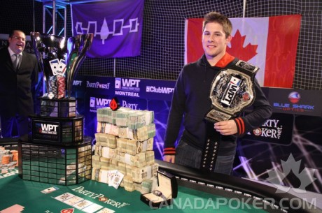 Jonathan Roy Wins 2012 World Poker Tour Montreal