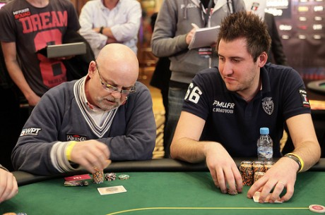 2012 World Poker Tour Mazagan Day 1b: Clement Beauvois in Front