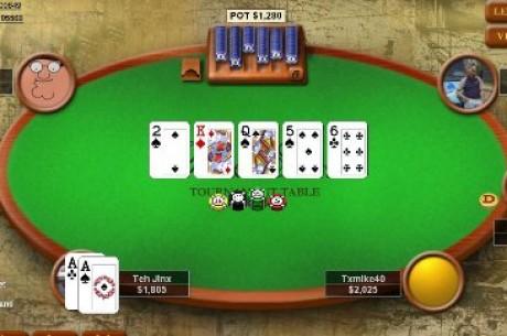 Poker Online: SexyLady Tenta a Sorte