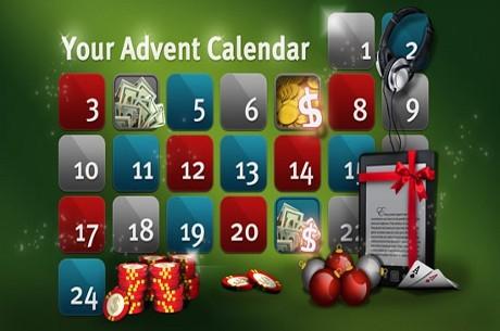 """Party jõulukalendris iga päev magusad auhinnad, tulemas suurturniir """"The Million&quot..."""