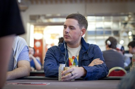 Toby Lewis in The Hunt For His First World Poker Tour Cash