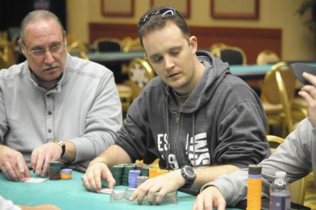 2012-13 WSOP Circuit Harrah's Resort Atlantic City: T.J. Crews Takes Control of Day 1