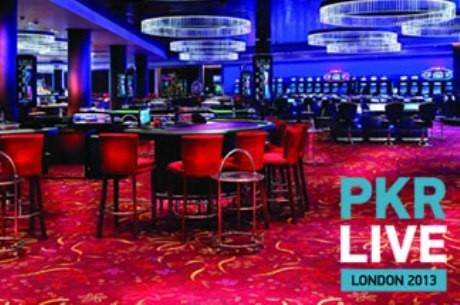 PKR Live 2013 - в супер покер зала с невероятна гледка към...
