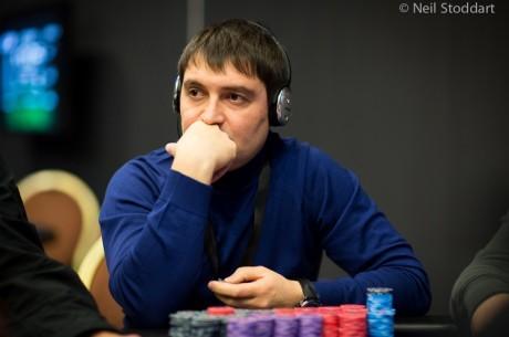 PokerStars.net EPT Prague 2. nap: Iosif Beskrovnyy vezet, Czuczor Márton még versenyben