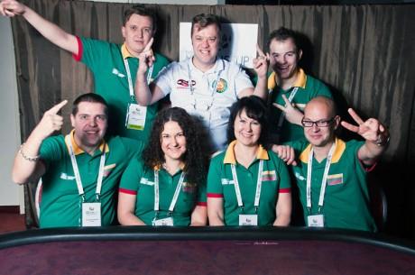 Puikiai Austrijoje pasirodžiusi Lietuvos pokerio rinktinė pateko į Europos Čempionatą!