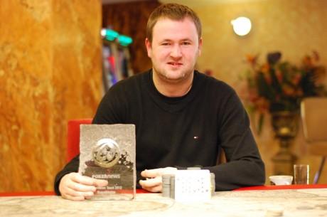 """""""PokerNews Taurės 2012"""" turnyre nugalėtojo vardą iškovojo Andrius Bielskis!"""