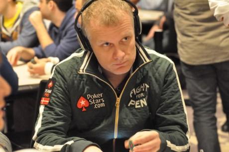 Theo Jørgensen taber 200.000 kr. i PokerStars-comeback