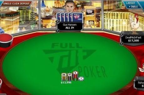 Gus Hansen上周止住下滑势头,赢利$900,000
