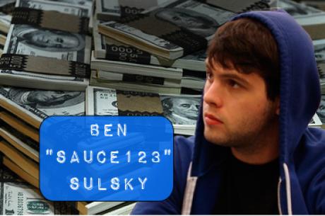 """Ben:Sauce 123""""Sulsky:2012线上扑克最大赢家"""