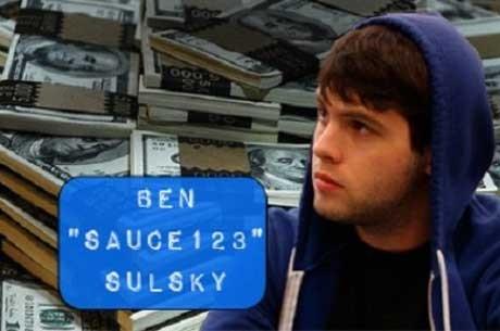 """Online Izveštaj: Ben """"Sauce123"""" Sulsky Online Poker Najveći Dobitnik u 2012. Gus..."""