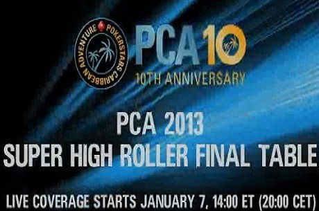 PCA Super Highroller 2013 Live Stream