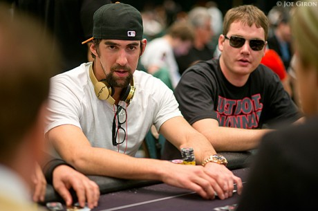PokerStars Caribbean Adventure 2013 $10,000 Main Event Dia 1b: Michael Phelps Avança