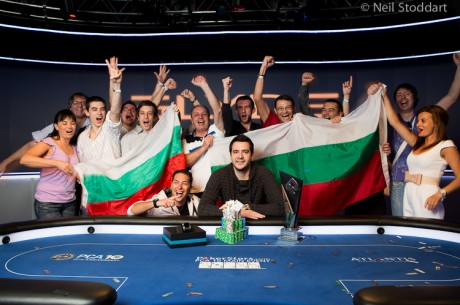 Dimitar Danchev Šampion 2013 PokerStars Caribbean Adventure Main Eventa