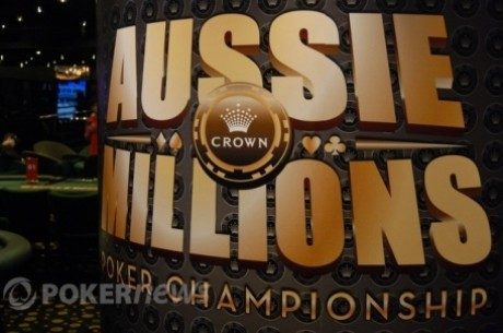 Melbourne'is algas Aussie Millions 2013