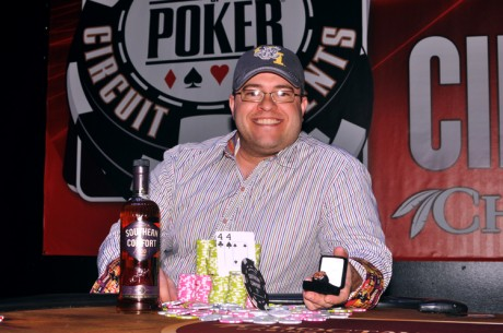 Jeff Fielder Wins the 2013 World Series of Poker Circuit Choctaw Main Event
