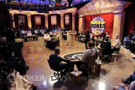 Sådan gik første runde af NBC National Heads-Up Poker Championship